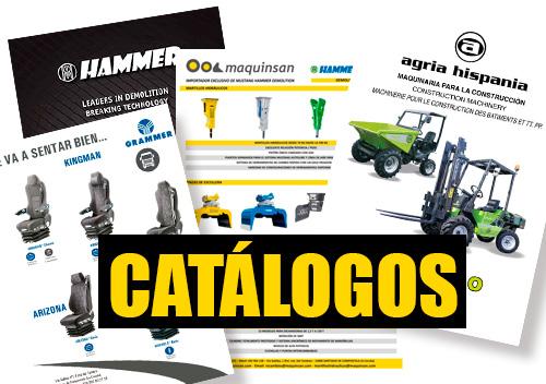 catalogos maquinaria agricola y de obra pública Maquinsan