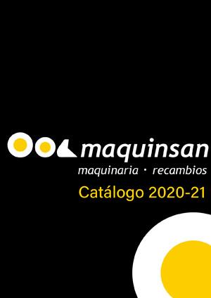 Catálogo Maquinsan 2020-21
